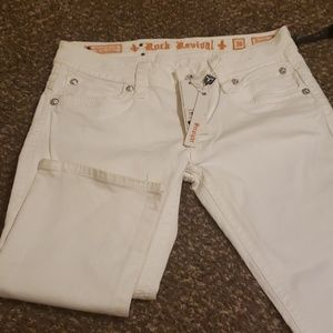 White Rock Revival Straight Leg Jeans